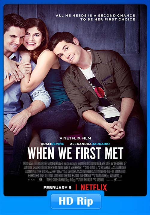 When We First Met 2018 100MB NF WEB-DL HEVC x265 Poster