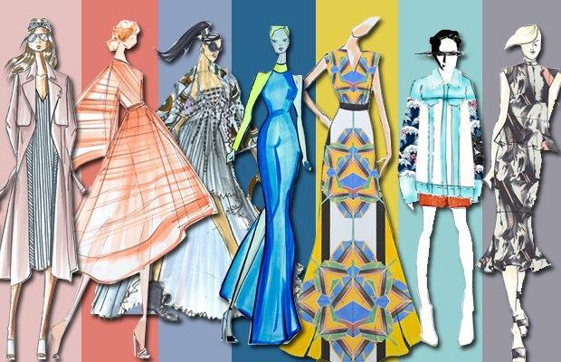Модные оттенки этого лета – топ-10 модных цветов лето 2017