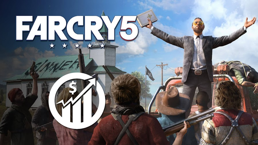 far cry 5 sales records ubisoft