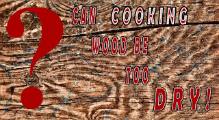 The importance of proper moisture in cooking wood to generate smoke flavor in any barbeque