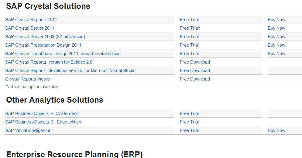Bloom Consulting BI: Installing #SAP #CrystalReports #BI