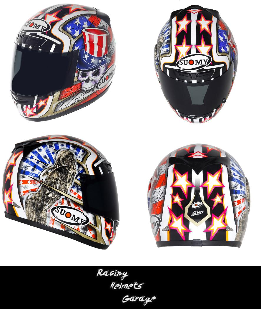 166231939d86c Racing Helmets Garage  Suomy Apex 2013