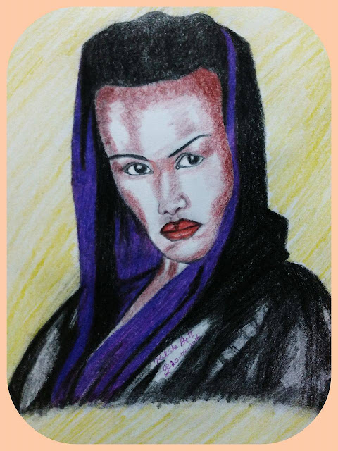 ORIGINAL DRAWING FOR SALE - GRACE JONES