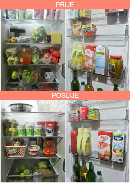 Hladnjak - prije i poslije