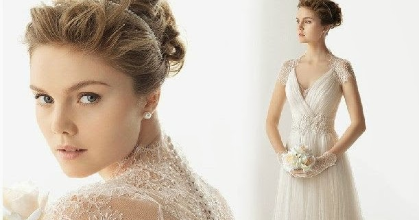 A Line Wedding Gown With Sleeves: A Line Vintage Cap Sleeve Lace Bridal Wedding Gown :: My