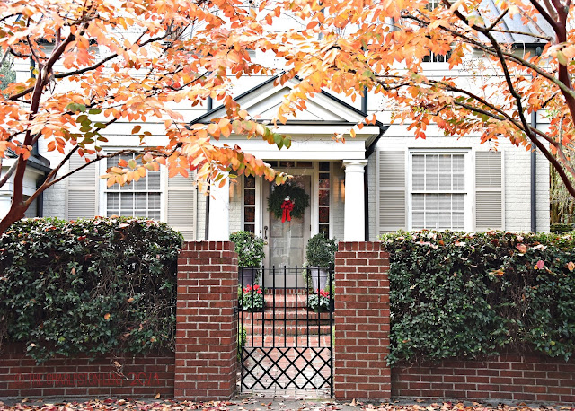 Southern Christmas Front Porch Design