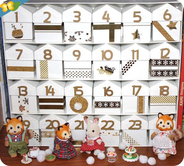 Son calendrier de l'Avent [Sylvanian Families]