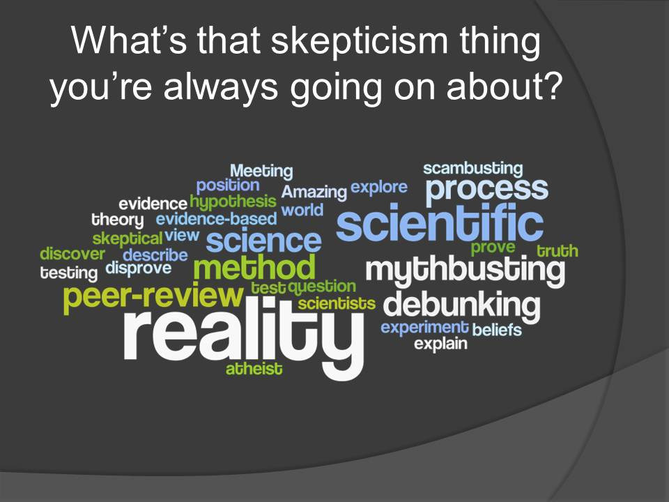 An analysis of the topic of skepticism