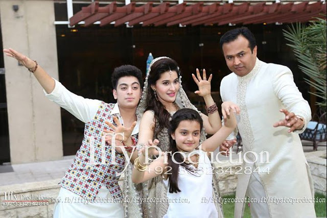Shaista Lodhi Nikah Wedding Photoshoot With Her Husband Adnan Complete Video Pictures