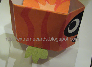 pumpkin cube pop up