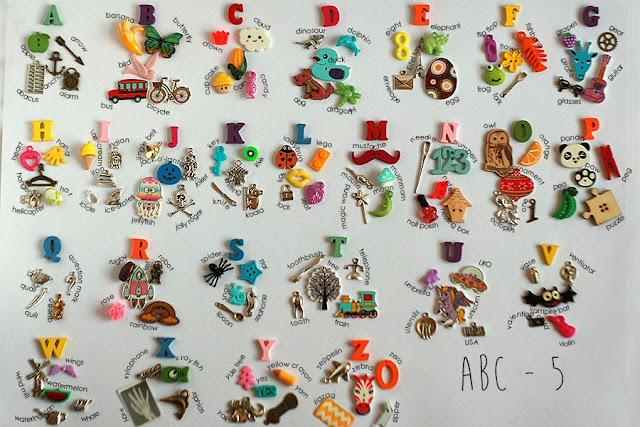 Language objects for I spy bag, I spy bottle