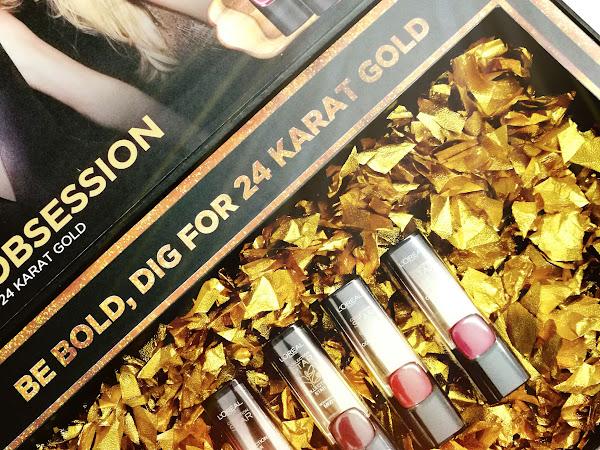 Review: L'Oreal Paris Color Riche Gold Obsession Lipsticks