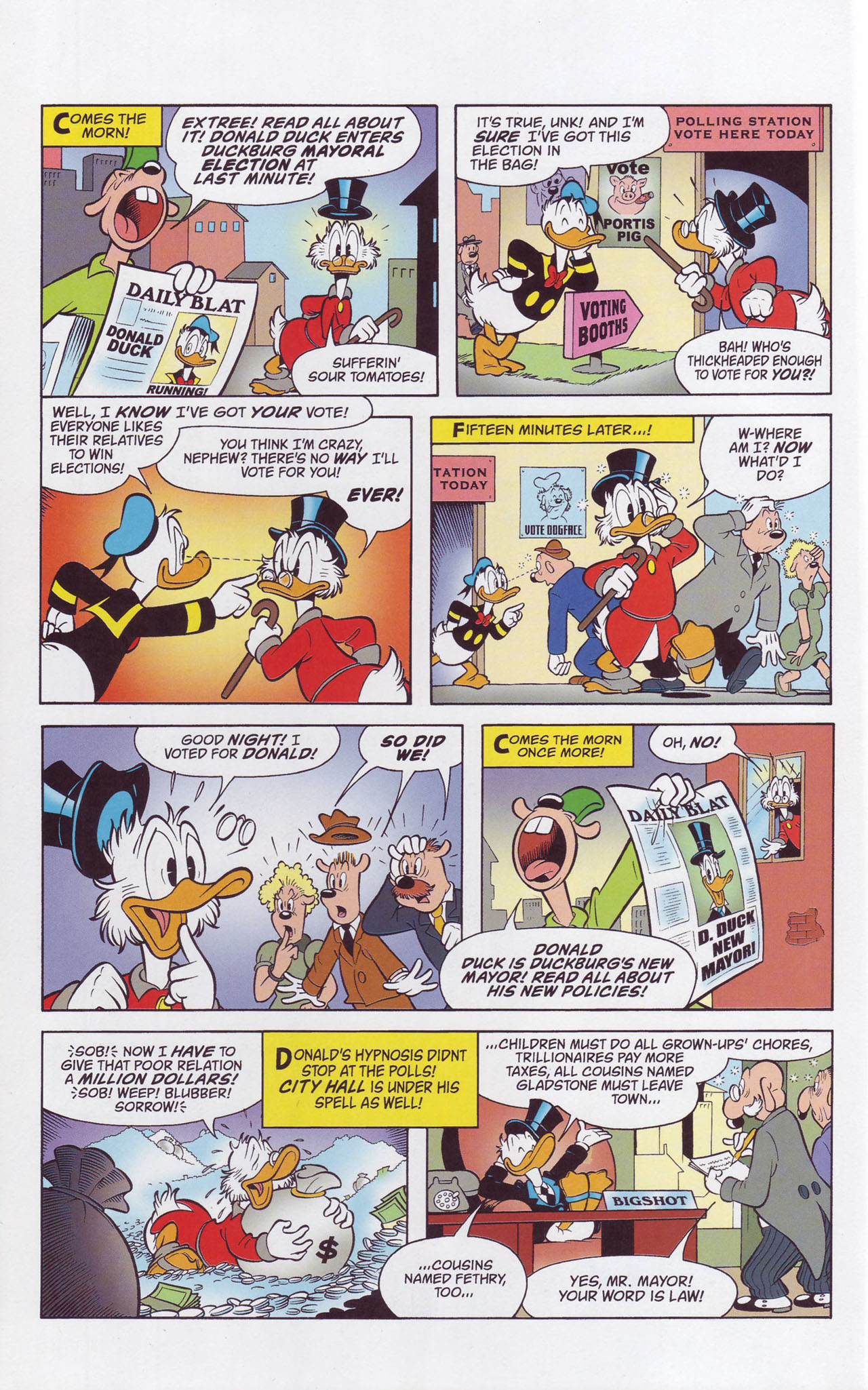 Read online Uncle Scrooge (1953) comic -  Issue #357 - 64