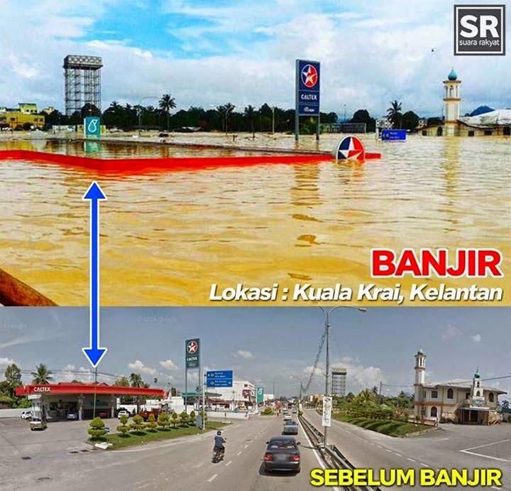 Ayuh Rakan Blogger! Dengan 1 Komen daripada Kita, Boleh Membantu Mangsa Banjir !