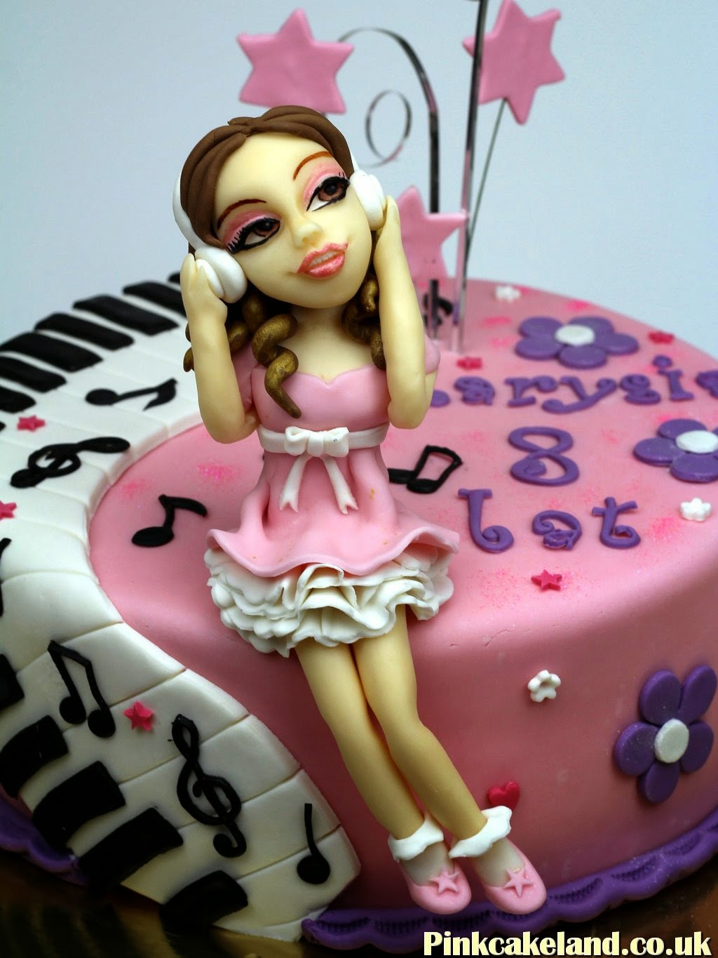 Violetta Disney Birthday Cake