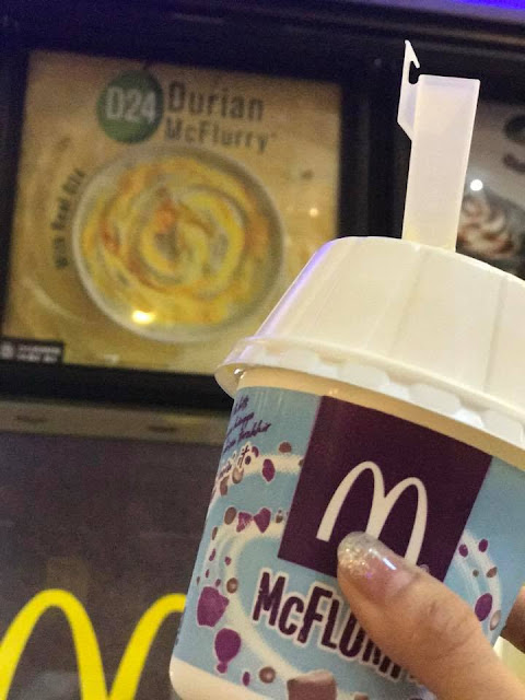 McDonald's D24 Durian Flavoured McFlurry Promo