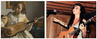 две гитаристки