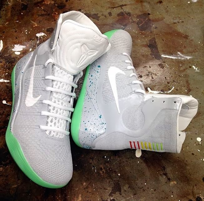 designer fashion 8591c 50ee6 Here is a look at a pretty awesome Custom here by clean13kicks of a pair of Nike  Kobe 9 Elite