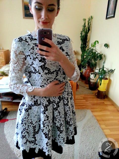 propozycja eleganckiej sukienki