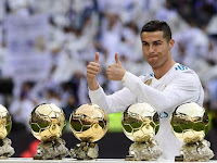 Ronaldo is hesitant to win the 6th Ballon d'Or