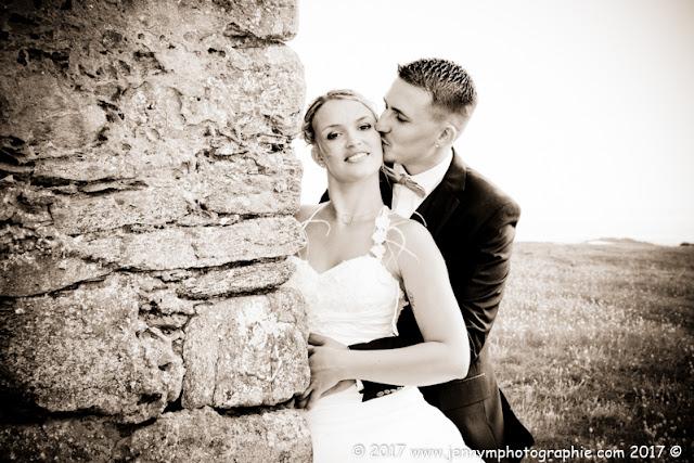 photo bisous du marié