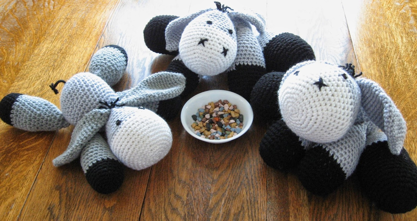 Almost Unschoolers  Easter Donkey - Mix and Match Free Crochet ... 0afe398ed