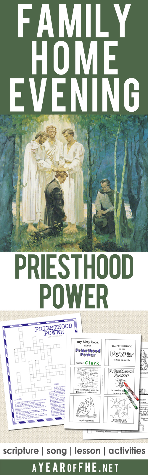 A Free Family Home Evening All About The Power Of Priesthood This Has