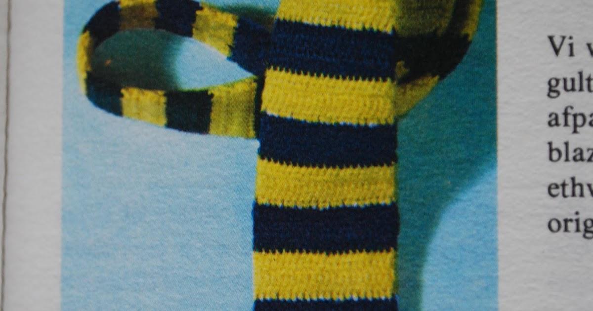 The Puk Project: Hæklet slips! Du kan nå det inden fars dag!