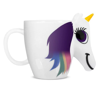 rosegal, wishlist, mug, unicorn, changing, colors, multicolor, gift idea, poklon, jednorog, šalica