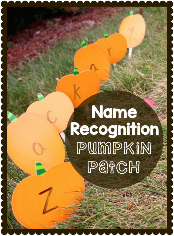 Pumpkin Name Recognition Game