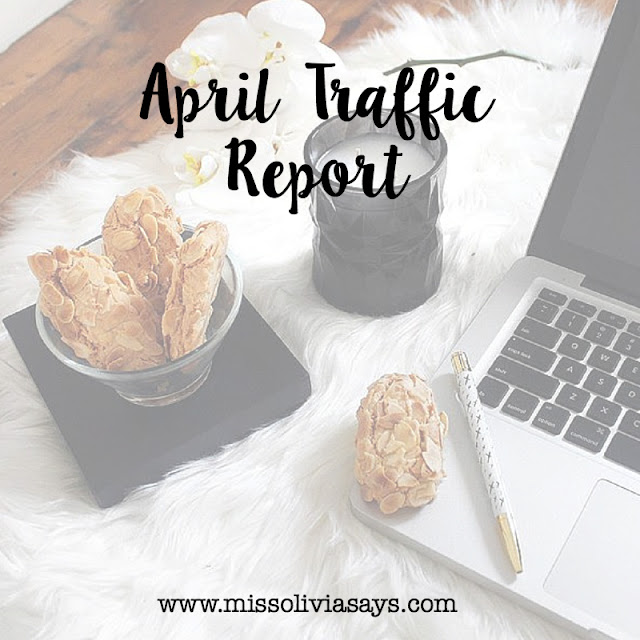 April Blog Traffic Report and May Blog Goals. How to grow your blog audience and presence