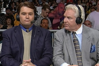 WCW Halloween Havoc 1998 - Tony Schiavone and Bobby 'The Brain' Heenan called the action