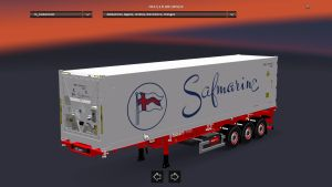 Stobart SDC Trailer