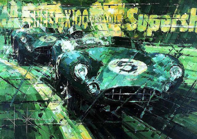 John Ketchell art, racer five