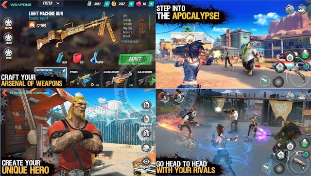 Game Dead Rivals MMO Apk terbaru Rilis Android