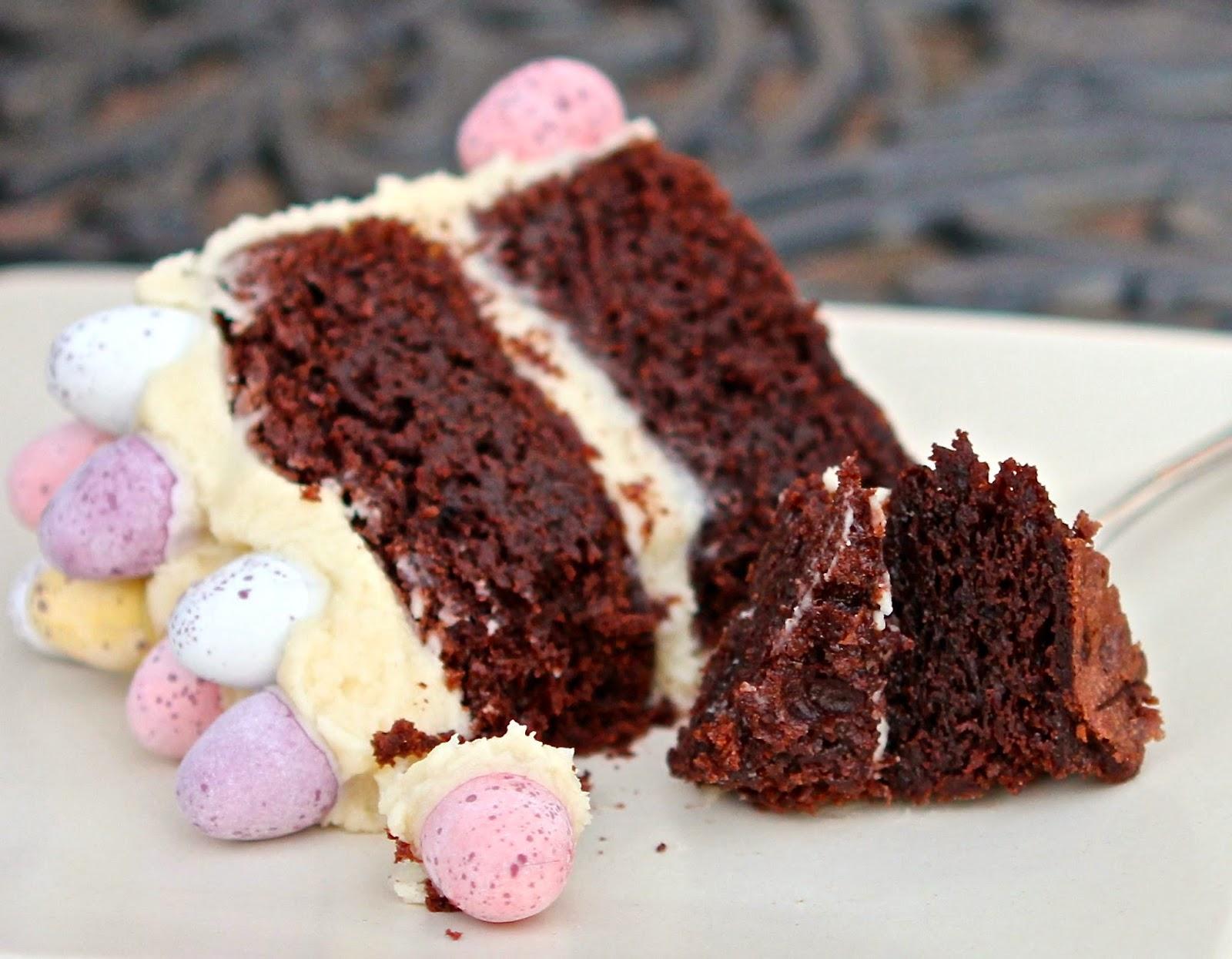 Gluten Free Alchemist: Rich Mocha Easter Cake - gluten free