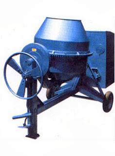 Beton Molen atau Concrete Mixer Untuk Mengaduk Beton Sitemix