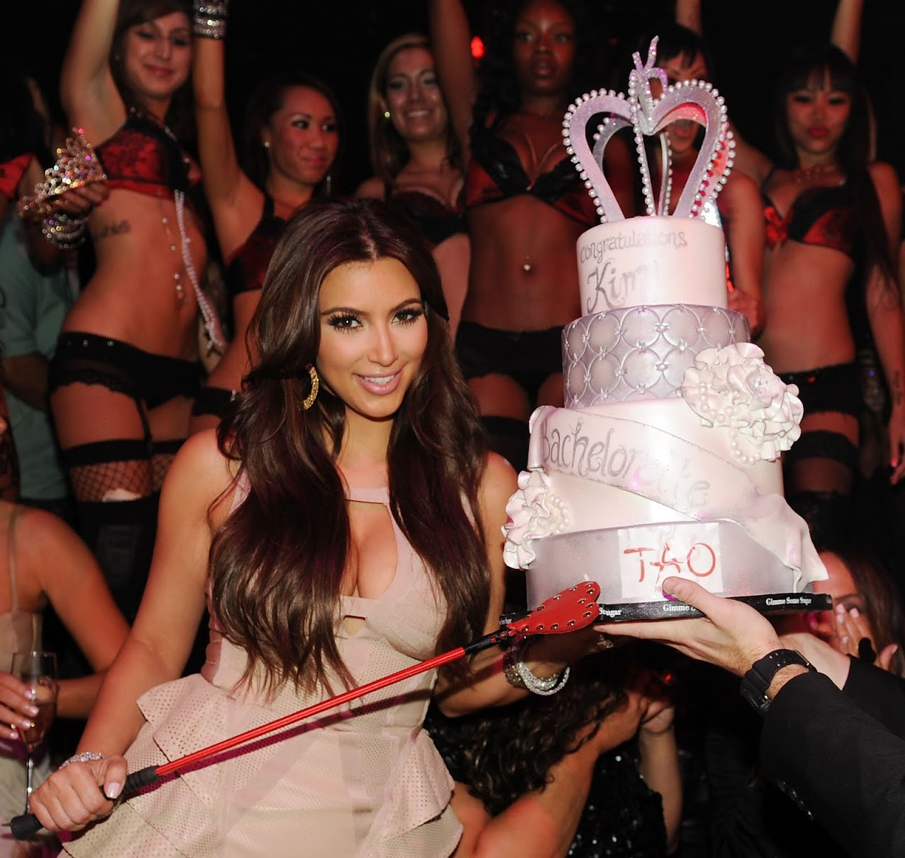 Kim Kardashian's Bachelorette Party at Tao