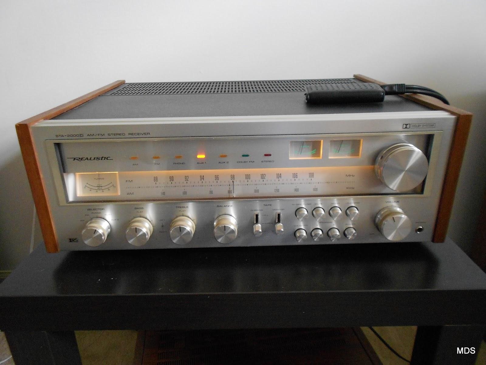 Realistic STA-2000D Receiver