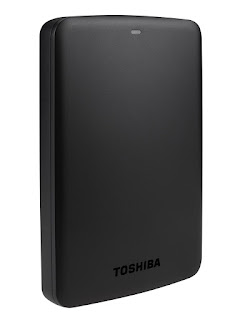 OFFER External Hard Drives, Toshiba HDTB320EK3AA 2 TB Canvio Basics USB 3.0 – £59.98