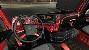 Mercedes MP4 Redline interior