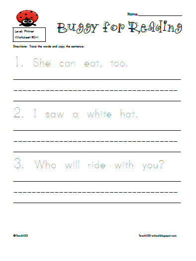 Handwriting Packets | Hand Writing