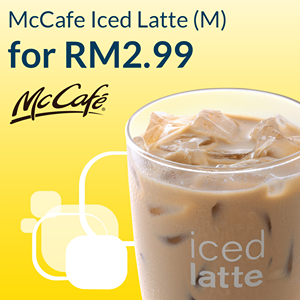 MyDigi App Rewards Voucher McCafe Iced Latte Discount Promo