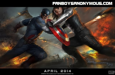 Ryan Meinerding concept art for Captain America The Winter Soldier