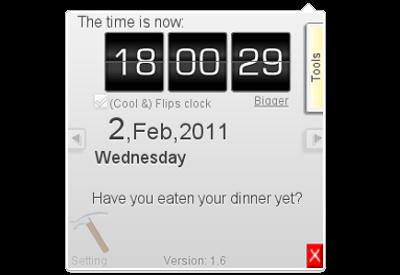 電腦追蹤者: Chrome 鬧鐘/計時器/倒數器/日曆/時鐘擴展程序 ,把握你的每一分每一秒