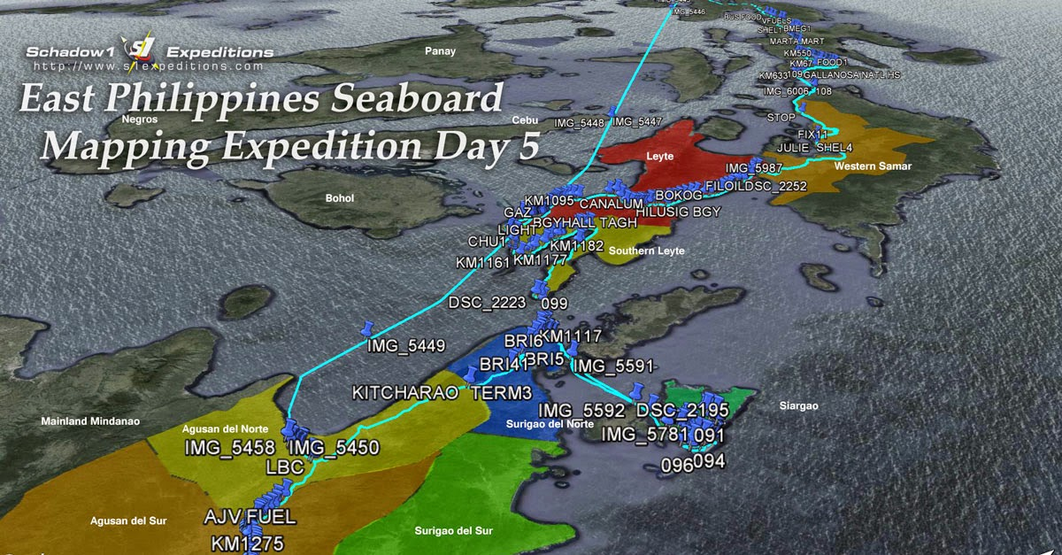 Day 5 East Philippines Seaboard Mapping Expedition - Schadow1 Expeditions
