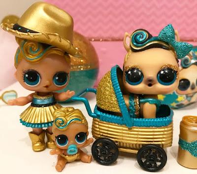 Семья кукол Лол с питомцем Luxe