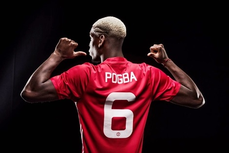 PogbaisRed: Man. United Unveils Paul Pogba After Signing a 5-year Multi-million Pounds Deal (Photos)