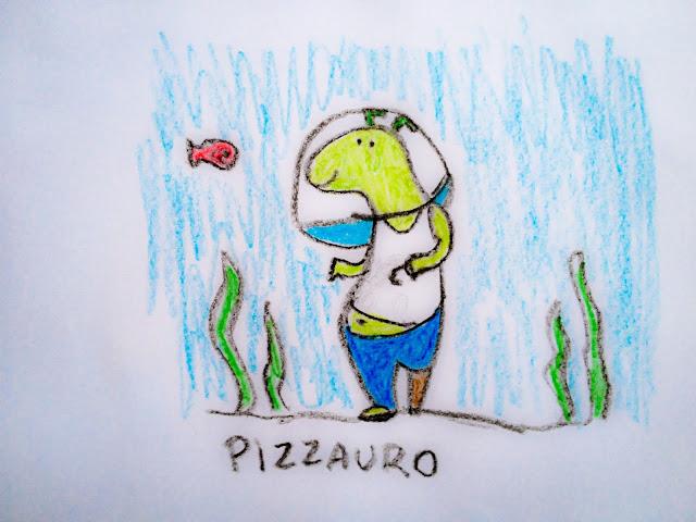 Meu desenho brincando com o jogo Imagine-me, da Cusco Studio.
