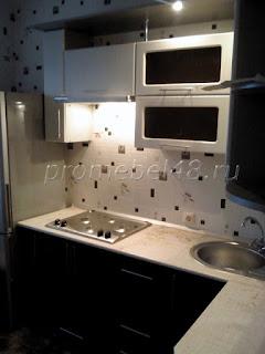 Угловая кухня 7 кв. м.